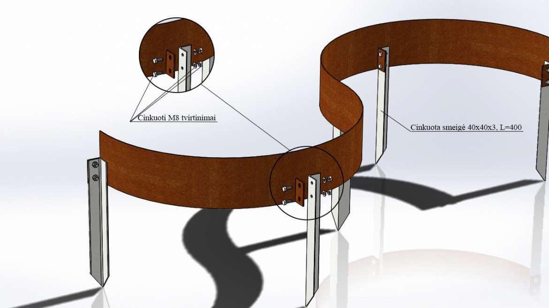 Formuojami (lankstūs) borteliai