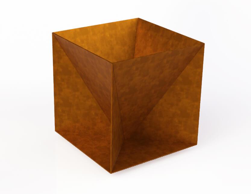 Piramidė kube