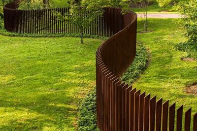 Metalinės corten tvoros